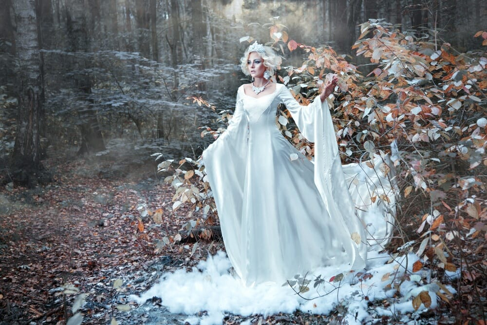 queen princess snow frost cold