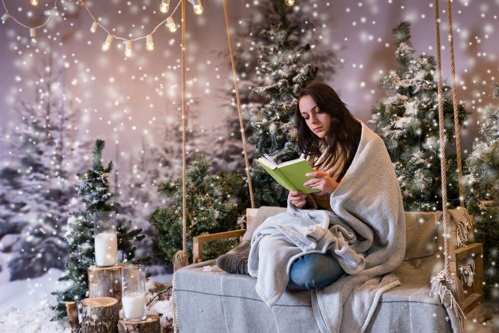 reading at christmas time