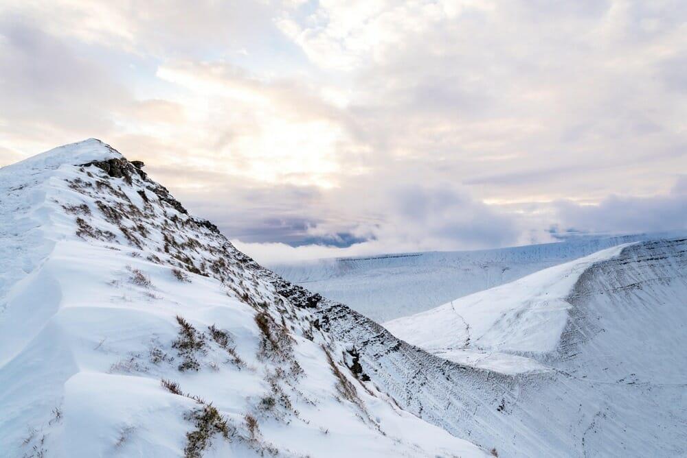 mountains cold snow high altitude