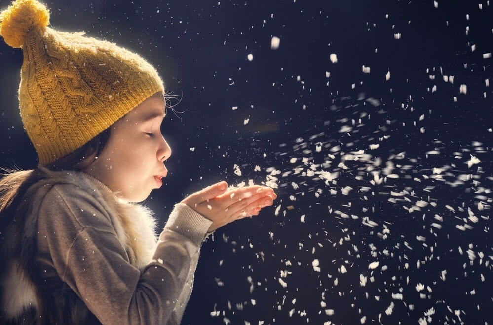 magic dust snow capture